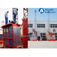 Wholesale SC50 Mini Construction Lifts a Single Elevator Cage 500kg load from china suppliers