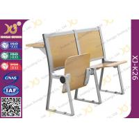 Wholesale Lecture Hall Seats Attached School Desks And Chair Wooden Folding Furniture from china suppliers