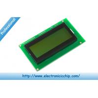 Wholesale Serial Enabled Character LCD Display 20x4 LCD - Black on Green 5V Display from china suppliers