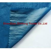 Wholesale Down proof Taffeta check crinkle fabric for jacket from china suppliers