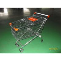 Wholesale 150 L European Style Shopping Trolley Carts Anti Theft For Supermarket from china suppliers