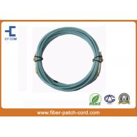Quality LC OM3 Duplex Fiber Optical Patch Cord LSZH jacket High Return Loss for sale