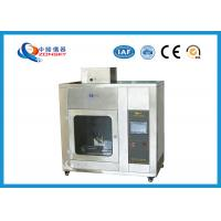 Wholesale IEC 60695 Stainless Steel Needle Flame Testing Equipment / Pin Flame Test Chamber from china suppliers