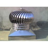 Quality Stainless Steel 201 Wind Turbine Ventilator for sale