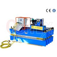 Wholesale Steel Cord Conveyor Belt Vulcanizing Press Machine , Blue Automatic Vulcanizing Machine from china suppliers