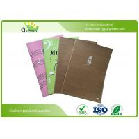 Wholesale Eco Friendly Stationery Printed Bespoke Exercise Books With Kraft Paper Cover from china suppliers