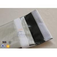 China 28 x 32cm Fireproof Document Bag with Silver + Black Carbon Fabric Inside on sale