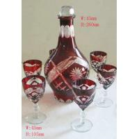 Wholesale decal, frosty, hot stamping engrave Stem Wine Glass gift Sets / Home Glassware from china suppliers