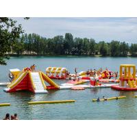 Buy cheap Free Customized Design Lake Inflatable Floating Water Park Games from wholesalers