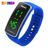 Wholesale Classical Silicone Strap LED Digital Wrist Watch Japanese Battery from china suppliers