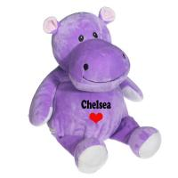 Wholesale 8 Inch Lovely Hippo Animal Plush Toys Promotion Gifts For Holiday Celebration from china suppliers