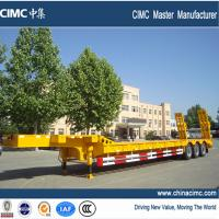 Wholesale low bed semi trailer , tri-axle low bed semi trailer from china suppliers