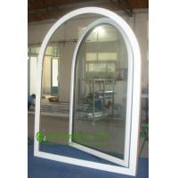 Wholesale UPVC Windows For Residential Home, Double Glazed Arched Casement Window, Waterproof  Vinyl Windows For Sale from china suppliers