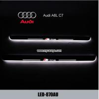 Wholesale Audi A6L C7 LED Lights Scuff Plate protector Threshold Tread car Pedal from china suppliers