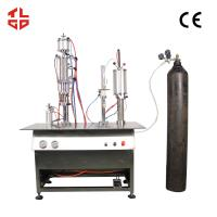 Wholesale Semi Automatic Canned Fresh Air Filling Machines from china suppliers