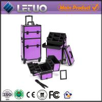 Buy cheap made in China make up beauty cosmetic makeup trolley case new design vanity case from wholesalers