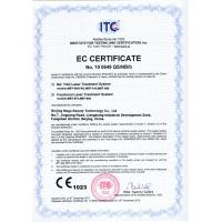 Beijing Mega Beauty Technology Co,Ltd Certifications
