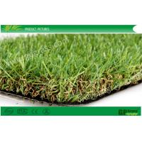 Wholesale Green / Brown Residential Artificial Turf Carpet For Balcony 12000dtex from china suppliers