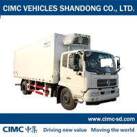 Wholesale DongFeng 8 Ton 4*2 refrigerated van truck seafood refrigerated van truck for sale from china suppliers