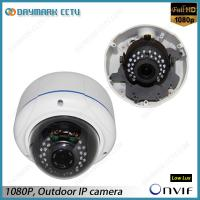 Wholesale Vandalproof 2 Megapixel HD Dome IP Camera 2.8-12mm Varifocal Lens Onvif Compatible from china suppliers