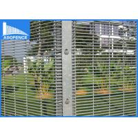Wholesale 2.5m Width Anti Burglar Fence , 358 Anti Climb Mesh Fencing For Garden Security from china suppliers