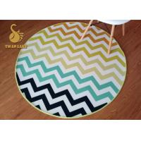 Wholesale Fashionable Outdoor Welcome Mats , Small Round Area Rugs For Dining Room from china suppliers