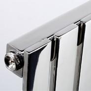 Wholesale Flat SS Tube Heated Towel Radiators , 40 x 10mm Bathroom Towel Radiators from china suppliers
