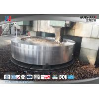 Quality Steel Forging Heat Exchanger Tube Sheet 16MnD / 20MnMo High Precision for sale