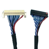Wholesale FIX 30P Connection Line 30cores LVDS Cable Assembly OEM ODM from china suppliers