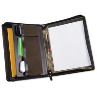 Wholesale Cutter & Buck American Classic Genuine Leather Mahogany Zippered Padfolio from china suppliers