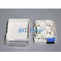 Quality SC Duplex Wall Mounted Fiber Optic Terminal Box for SM Fiber for sale