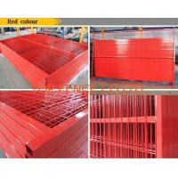 Wholesale 6ft x 10ft  temporary construction fence panels weld mesh temp fencing panels from china suppliers