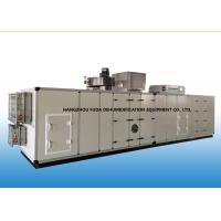 Buy cheap PLC Automatic Industrial Air Dehumidifier With Cooling Coil 6000m3/h from wholesalers