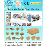 Wholesale High Speed Carton Automatic Folder Gluer Machine QF Series 140 Pieces / Min from china suppliers