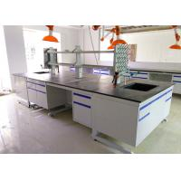 Buy cheap Epoxy Resin Top Chemistry Lab Bench Furniture Anti High Temperature from wholesalers