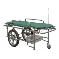 Wholesale Height Fixed Ambulance Stretcher Trolley 180kg Load Capacity Two Large Wheels from china suppliers