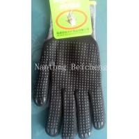 Wholesale Dot Anti-slip Nitrile Work Gloves 15 Gauge with Nylon Liner Dip Palm from china suppliers