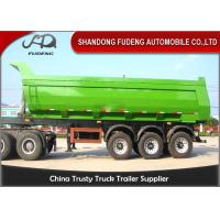 Wholesale Tri Axle Heavy Duty Dump Semi Trailer For Rock Sand And Coal Delivery from china suppliers