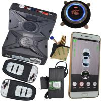 Wholesale 2 Way Smartphone Car Alarm System With Security Gps Tracking Location Keyless Go Start from china suppliers