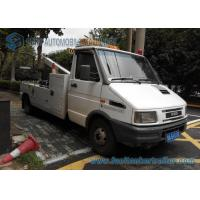 Wholesale Diesel IVECO 4X2 5 Ton Light Duty Wrecker Flatbed Tow Truck from china suppliers