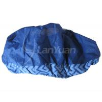 Wholesale Anti-skid Nonwoven Dark Blue Printed Overshoe from china suppliers