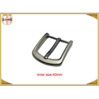 Wholesale Square Clasp Clip Pin Nickel Color Metal Buckle For Men's Leather Belt from china suppliers