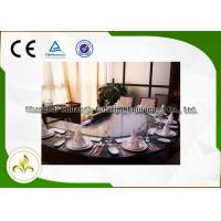 Wholesale Electromagnetic Heating Arched Shape Teppanyaki Grill Table With Ten Seats CE Approved from china suppliers
