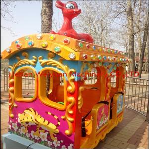 Quality Amusement Park Big Elephant Track Train Rides for Kids for sale
