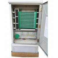Wholesale SMC Material Optical Fiber Distribution Cabinet , 144 Core Fiber Wall Mount Enclosure from china suppliers