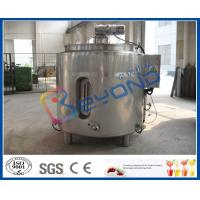 Wholesale Chocolate Melting Stainless Steel Tanks / Electric Heating Tank With 100L - 2000L Volume from china suppliers