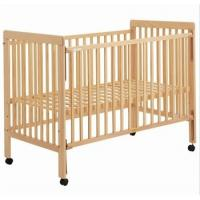 Wholesale High-grade New Zealand pine completely real wood crib white from china suppliers