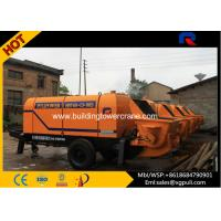 Wholesale Air Cooling Trailer Electric Concrete Pump Machine 13 Mpa Outlet Pressure from china suppliers