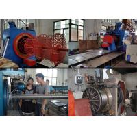 Quality 8700MM Length Wedge Welded Wire Mesh Machine Screen Filter In Oil Refining for sale