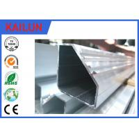 Wholesale Hollow Tube 5050 Aluminium Frame Profile With Silver Anodizing Surface Treatment from china suppliers